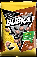 """Семечка подсолнуха с арахисом жареная """"Bubka"""" с солью (70 г)"""
