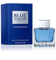 Мужская туалетная вода antonio banderas blue seduction 100 ml, фото 1
