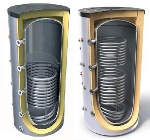 буферная емкость с теплообменником