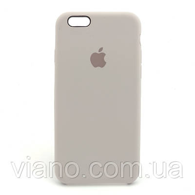 Силиконовый чехол iPhone 6/6S, Apple silicone case (Лаванда)