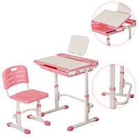 Детская ортопедическая регулируемая парта Bambi M 3111-8 Розовый