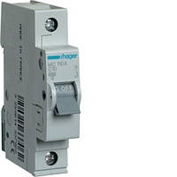 Автоматичний вимикач 1P 6kA C-10A 1M  MC110A Hager