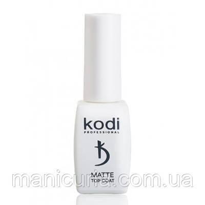 Матовое покрытие для гель-лака Kodi Professional Matte Top Coat Velour, 8 мл