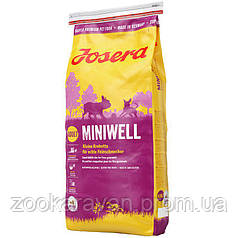 Josera Miniwell. Полноценный корм для собак мелких пород. 15 кг