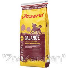 Josera Balance. Корм для пожилых собак и собак с излишним весом. 15 кг