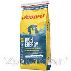 Josera High Energy. Полноценный корм для взрослых собак с повышенной активностью. 15 кг