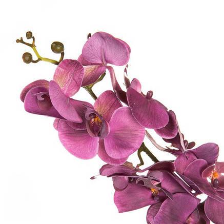 Орхидея сиреневая ( силикон 97 см.), фото 2