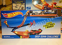 Трек Hot Wheels Drop Down Challenge оригинал Mattel (Хот Вилс Двойной спуск)