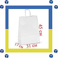 Бумажный пакет с витыми ручками (305мм/170мм/445мм)