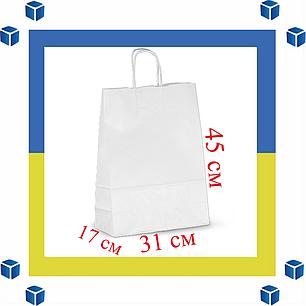 Бумажный пакет с витыми ручками (305мм/170мм/425мм), фото 2