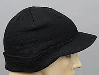 Шапка  JEEP CAPS с козырьком  черная Mil-Tec Германия