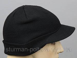 Шапка JEEP CAPS з козирком чорна Mil-Tec Німеччина