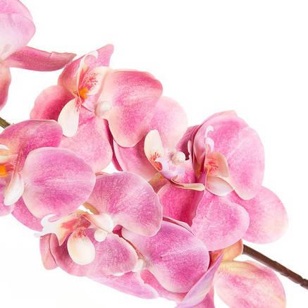 Орхидея розовая ( силикон 97 см.), фото 2