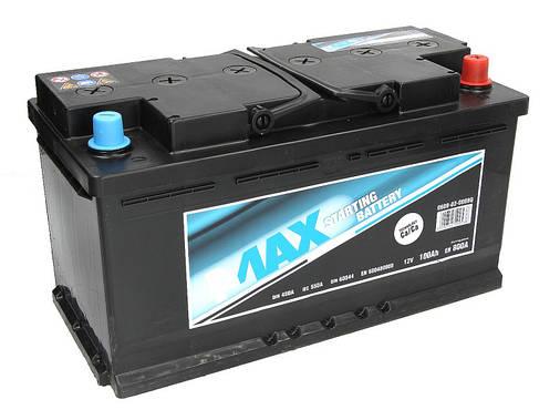 Аккумулятор 4Max Bateries 100Ah/800A R+(Ecoline 353x175x190, фото 2