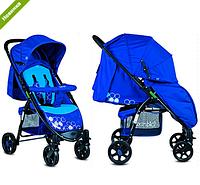 Прогулочная универсальная коляска BAMBI M 3409-4-2 синяя  ***