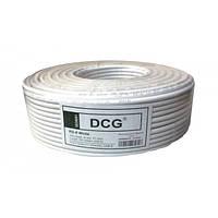Коаксиальный кабель DCG RG-6 white (100м)