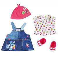Одежда для кукол Делюкс джинсовый стиль Zapf Creation 824498