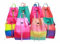 Стильный силиконовый рюкзак для девочек