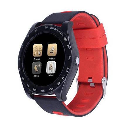 Часы Smart Watch Z1 Black/Red Гарантия 1 месяц, фото 2
