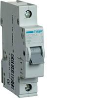 Автоматичний вимикач 1P 6kA C-25A 1M  MC125A Hager