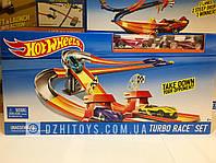 Трек Hot Wheels Turbo Race оригинал Mattel (Хот Вилс Супер Гонки)