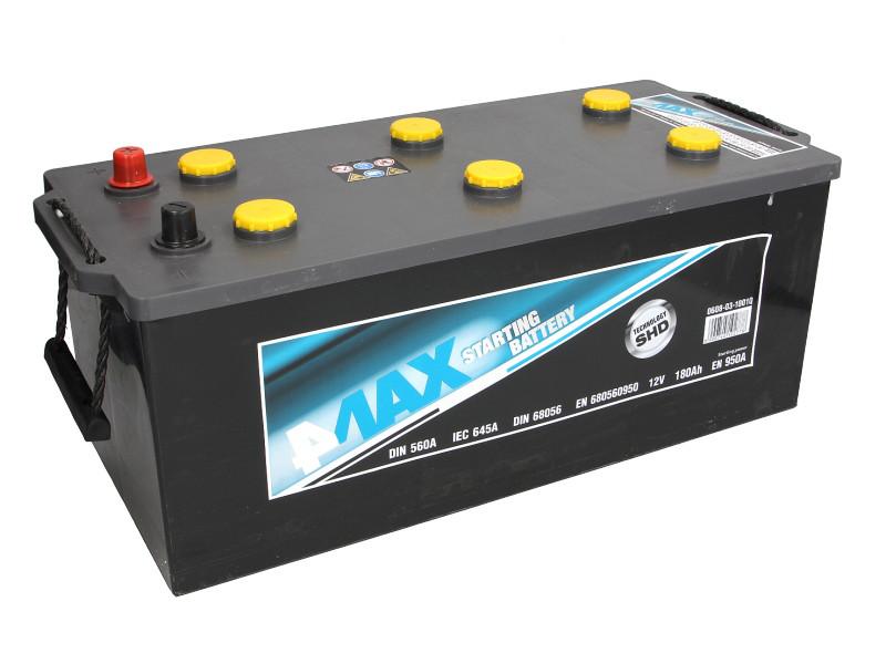 Аккумулятор 4Max Bateries 180Ah/950A L+(3) Ecoline 513x223x223