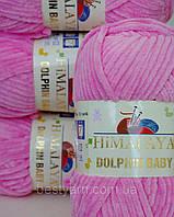 Нитки для вязания Dolphin Baby Himalaya 80309 розовый, фото 1
