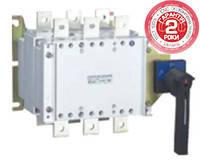 Вимикач-роз'єднувач перекидний YCHGLZ1 100А-1600A, 3Р, 400V