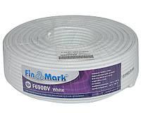 Коаксиальный кабель FinMark F 690BV white (100м)