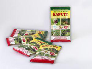БИО инсектицид KAPUT 40 мл (на 2 сотки) (лучшая цена купить оптом и в розницу)