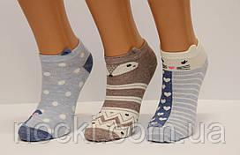 Стрейчевые женские компютерные носки Ф15 3D