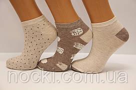 Стрейчевые женские компютерные носки Ф15