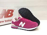 Кроссовки женские New Balance 515 код товара 4S-1046 Материал верха - замша,подошва - пена. Розовые