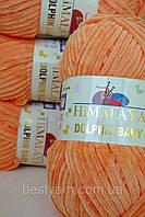 Нитки для вязания Dolphin Baby Himalaya 80316 оранжевый
