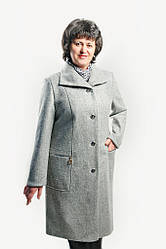"""Кардиган из пальтовой шерсти """"Меланж"""" на подкладке размеры 52-60"""