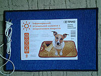 Коврик с подогревом с ковролиновым покрытием размеры (50*34*0,5см)