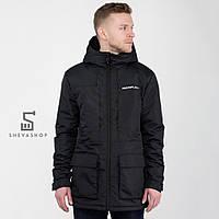 Демисезонная мужская куртка UP А6 черная, фото 1