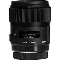 Объектив Sigma 35mm f1.4 DG HSM Art Lens for Canon DSLR Cameras (340-101)