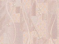 Обои на стену, акрил, бумажные B77,4 Лара 6566-02, 0,53*10м