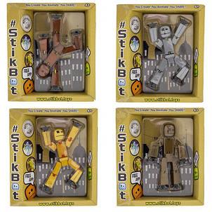 Фигурки для анимационного творчества Stikbot Metal, фото 2