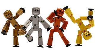 Фигурки для анимационного творчества Stikbot Metal