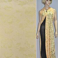 """404825308 - вискоза """"Деваре"""" желтая в цветы"""