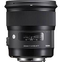 Объектив Sigma 24mm f1.4 DG HSM Art Lens for Canon EF (401-101)