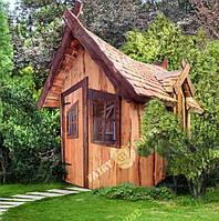 """Детский домик из дерева """"Запретного леса"""""""