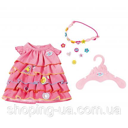Платье летнее для куклы Baby Born Zapf Creation 824481, фото 2