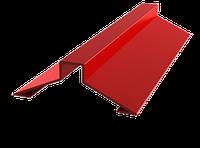 Планка конька кровельного Тип 2 | Кровельные коньки для метллочерепицы | Цена коньковых планок производителя