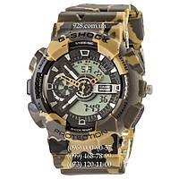 Спортивные мужские часы Casio G-Shock GA-110 G Militari Brown (кварцевые)