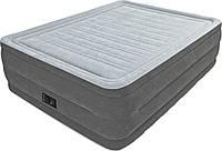 Двуспальная надувная кровать Intex + встроенный электронасос 220V  152x203x56 см  (64418)
