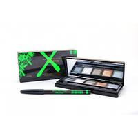 Тени Max Factor Xpirience 5 цветов+карандаш (поштучно№9)