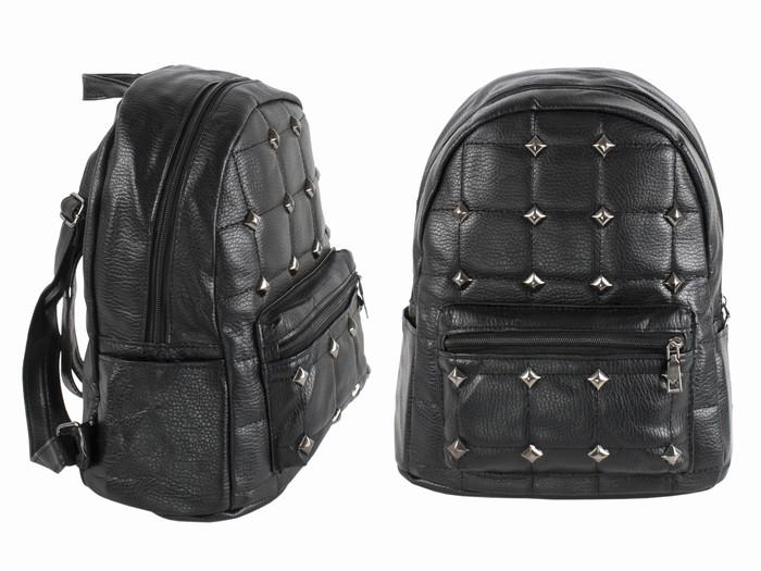 Рюкзак молодежный женский черный Middle